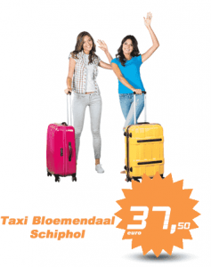 taxi bloemendaal schiphol