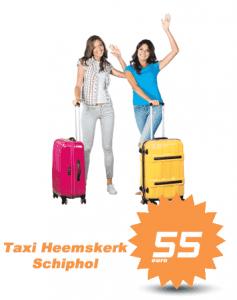 taxi heemskerk schiphol