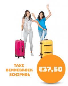 Taxi Bennebroek Schiphol