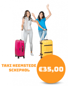 Taxi Heemstede Schiphol
