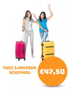 Taxi IJmuiden Schiphol
